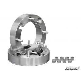 "3//8/"" stud spacers 2.5/"" Wheel Spacers for Polaris Ranger fits Front /& Rear"