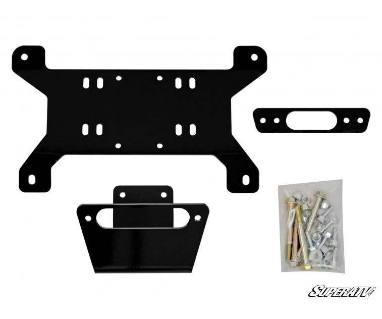 Can Am Maverick Winch Mount Plate Mounting Plate
