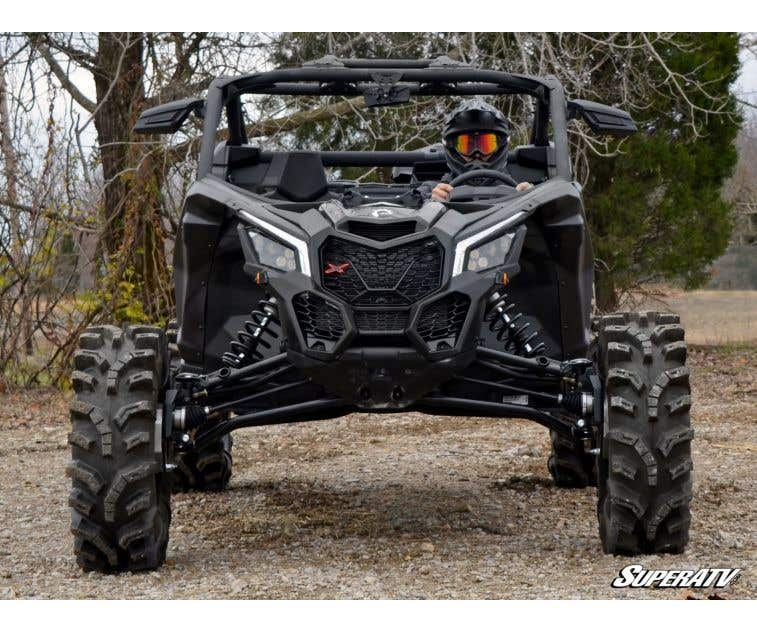 """See Fitment SuperATV 2/"""" Wheel Spacers for Can-Am Maverick X3 2017+"""