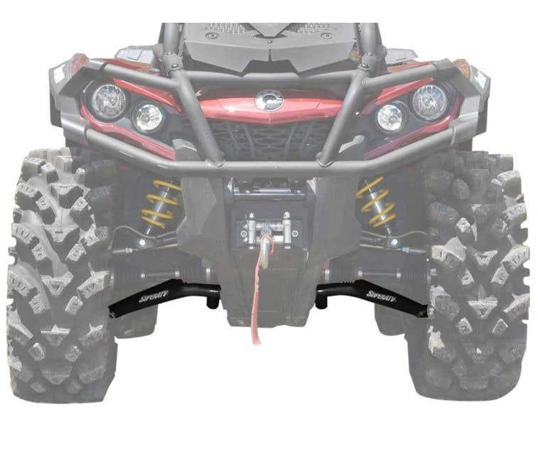 QUADBOSS Front and Rear Wheel Bearing Kits for Polaris RZR XP 4 1000 2014-2016