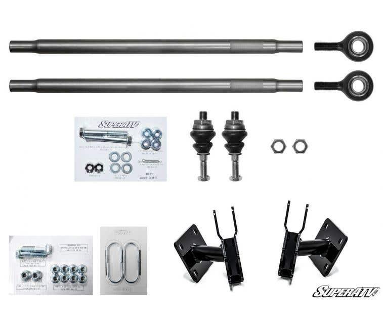SuperATV Heavy Duty Rhino 2.0 Axle for Can-Am Maverick Turbo//X DS//X RS//MAX 2X Stronger Than Stock! Stock Length REAR