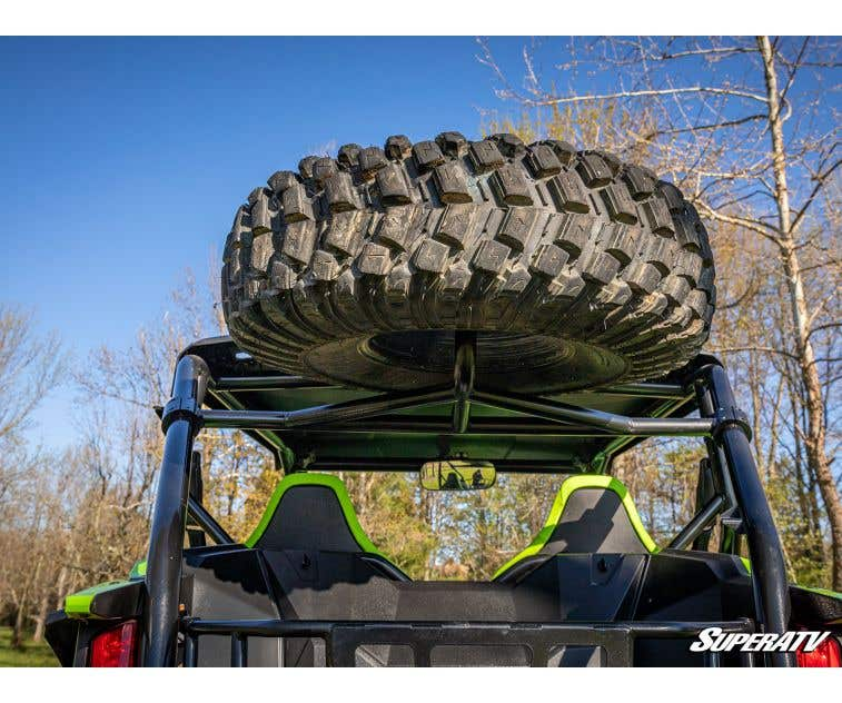 2019+ SuperATV Heavy-Duty Spare Tire Carrier for Honda Talon 1000X// 1000R
