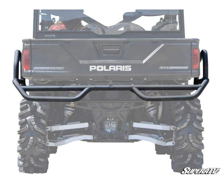 - Wrinkle Black 18+ // Crew SuperATV Winch Ready Front Bumper for Polaris Ranger XP 1000 19+
