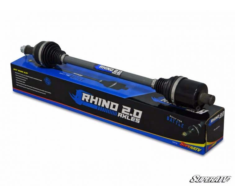 "SuperATV Rhino 2.0 Turbo 3/"" Long Travel Axle for RZR XP 1000 REAR"
