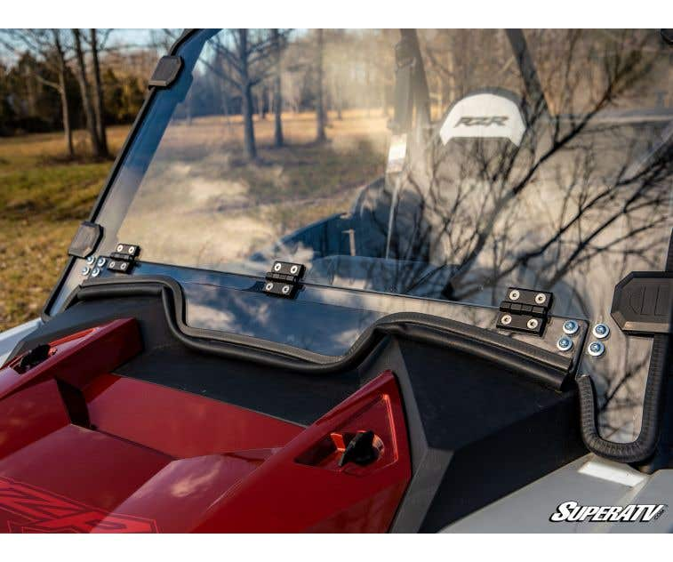 - 250X Stronger Than Glass SuperATV Heavy Duty Standard Full Windshield for Textron Wildcat XX 2018+ Installs in 5 Minutes!