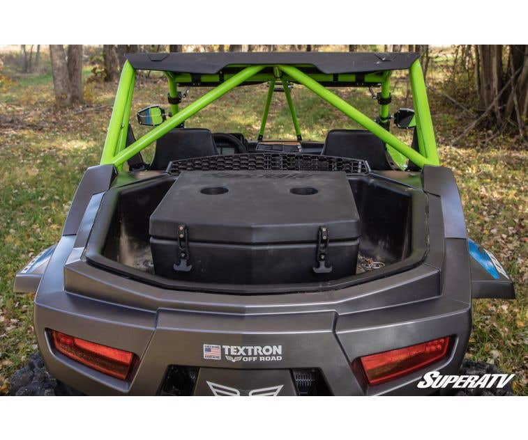 Easy to Install! SuperATV Heavy Duty Front Hitch Plate//Tow Hook for Textron Wildcat XX 2018+