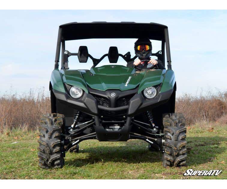 Black SuperATV High Clearance Lower A-Arms for Yamaha Viking 2014+