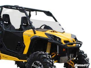 Can-Am Commander Scratch Resistant Half Windshield