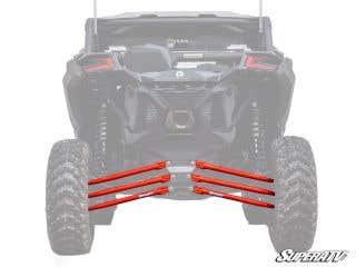Maverick X3 Tubed Rear Suspension Links - Complete Kit