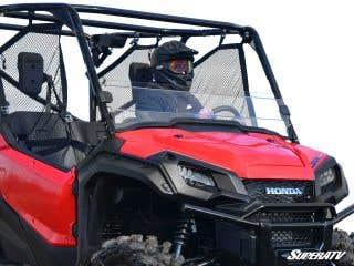 Honda Pioneer 1000 Scratch Resistant Half Windshield
