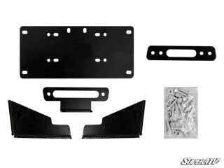 Kawasaki Mule Pro Winch Mounting Plate