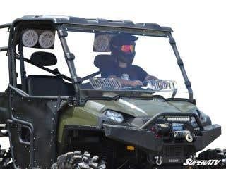 Polaris Ranger 570/800 Scratch Resistant Vented Full Windshield