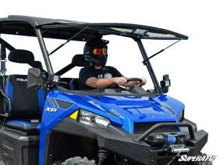 Polaris Ranger 1000 Scratch Resistant Flip Windshield