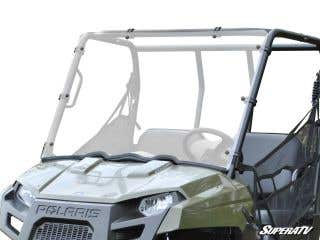 Polaris Ranger Midsize Scratch Resistant Full Windshield