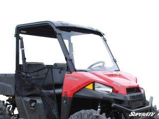 Polaris Ranger Midsize Scratch Resistant Full Windshield (2015+)