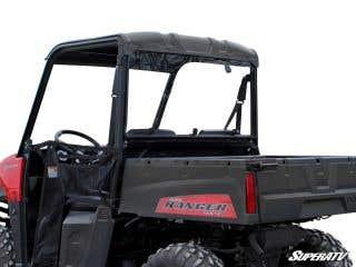 Polaris Ranger Midsize Scratch Resistant Rear Windshield (2015+)