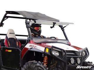 Polaris RZR Scratch Resistant Flip Windshield