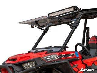 Polaris RZR 900 Scratch Resistant Flip Windshield