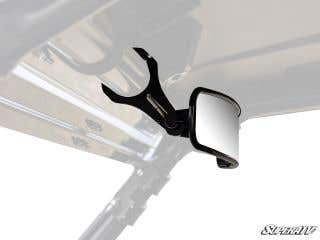 """17"""" Curved Rear View Mirror with 1.75"""" Clamps"""
