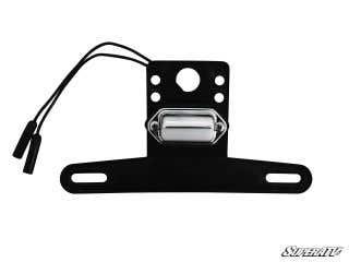 Universal Lighted License Plate Holder