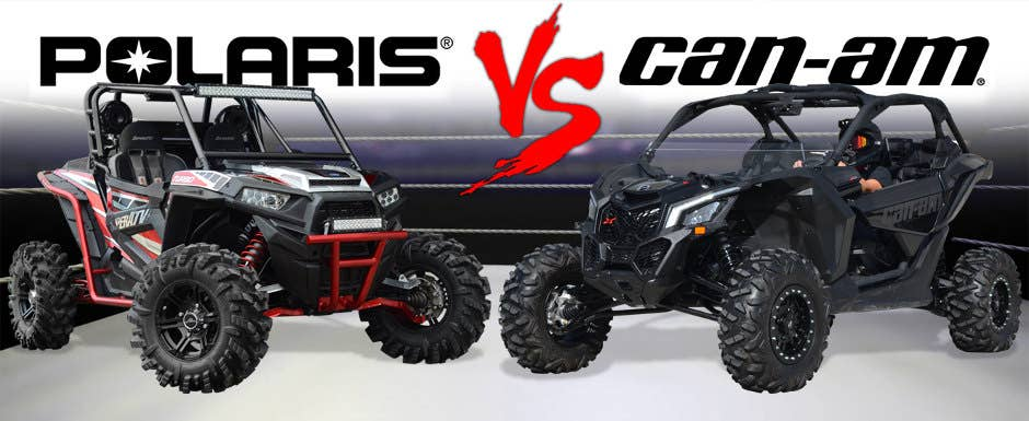 Polaris Vs  Can-Am: A Battle for the Ages | SuperATV