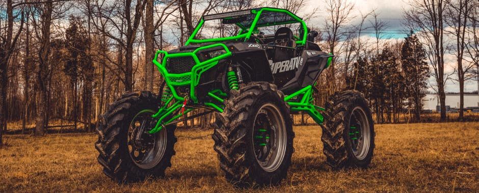 This RZR has a big lift and big portals. Is this right for you?