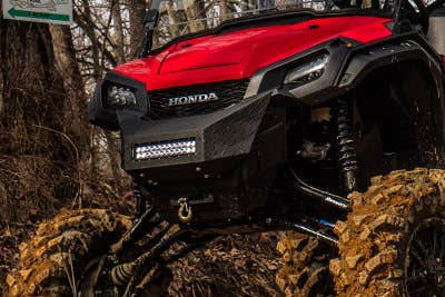 Honda Pioneer 1000 front brush guard