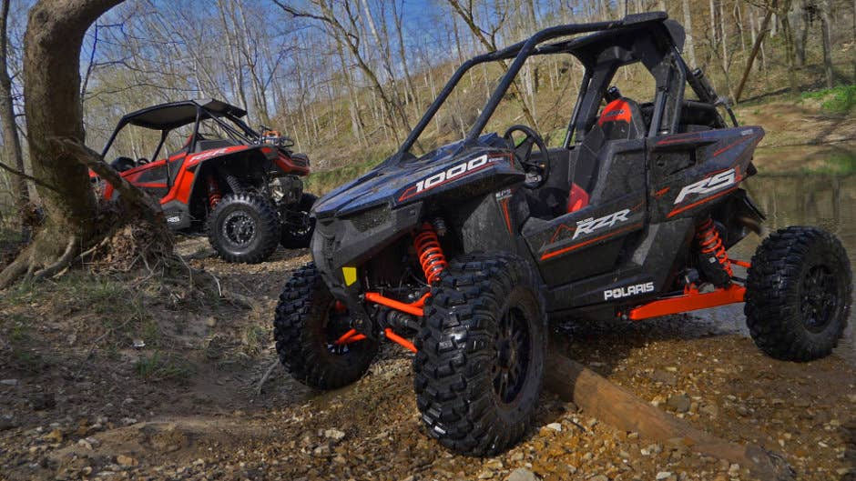 Despite all it's similarities to the 1000, the RZR RS1 has its own identity.