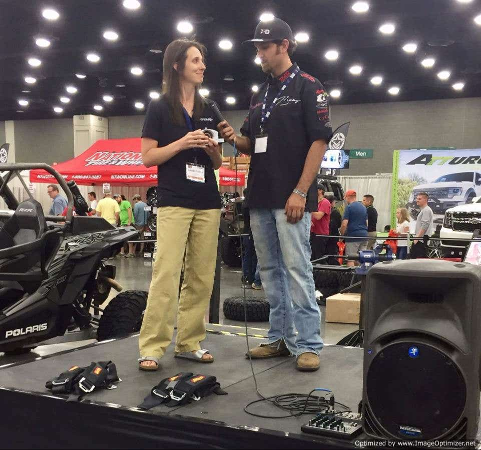 SuperATV VP Lindsay Hunt Interviewed by Jake Burkey