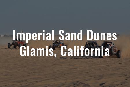 Imperial Sand Dunes - Glamis, California