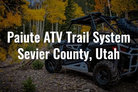 Pauite ATV Trail System, Sevier County, Utah
