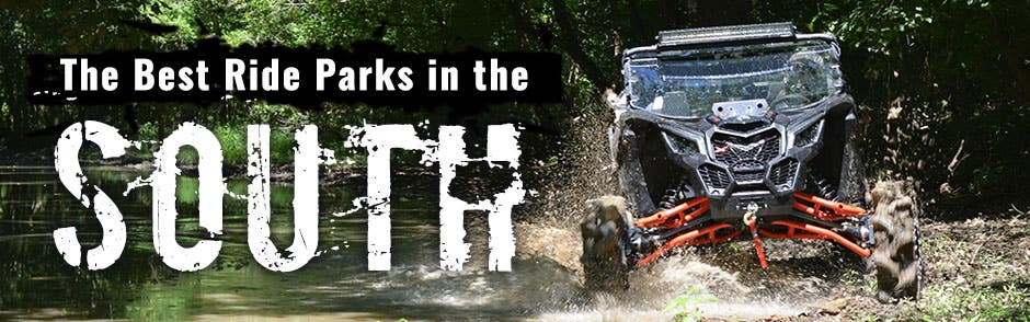 The Best Ride Parks of the South
