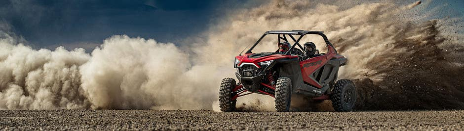 A RZR Pro XP in the desert