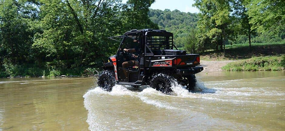 Power steering makes every movement of your Polaris Ranger feel better