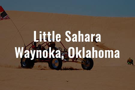 Little Sahara - Wanoka, Oklahoma