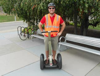 Segway's are already cool, and now they're looking even cooler