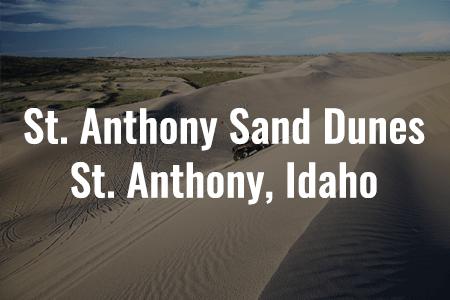 St. Anthony Sand Dunes, St. Anthony, Idaho