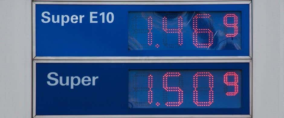 Ethanol Gas Price at the Pump