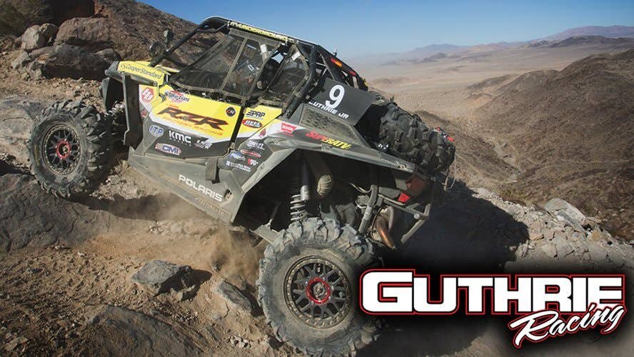 Guthrie Racing with SuperATV Rhino 2.0 Axles
