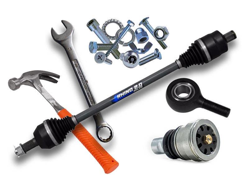 Spare UTV parts and accessories
