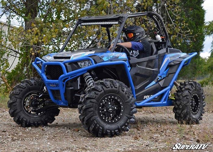 Blue Polaris RZR 1000 Bumper to bumper protection from SuperATV
